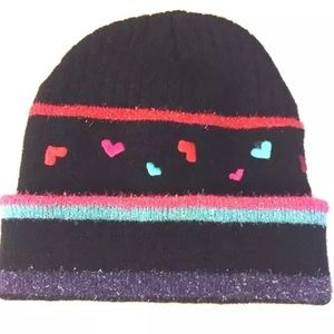 Other - Beanie hearts hat